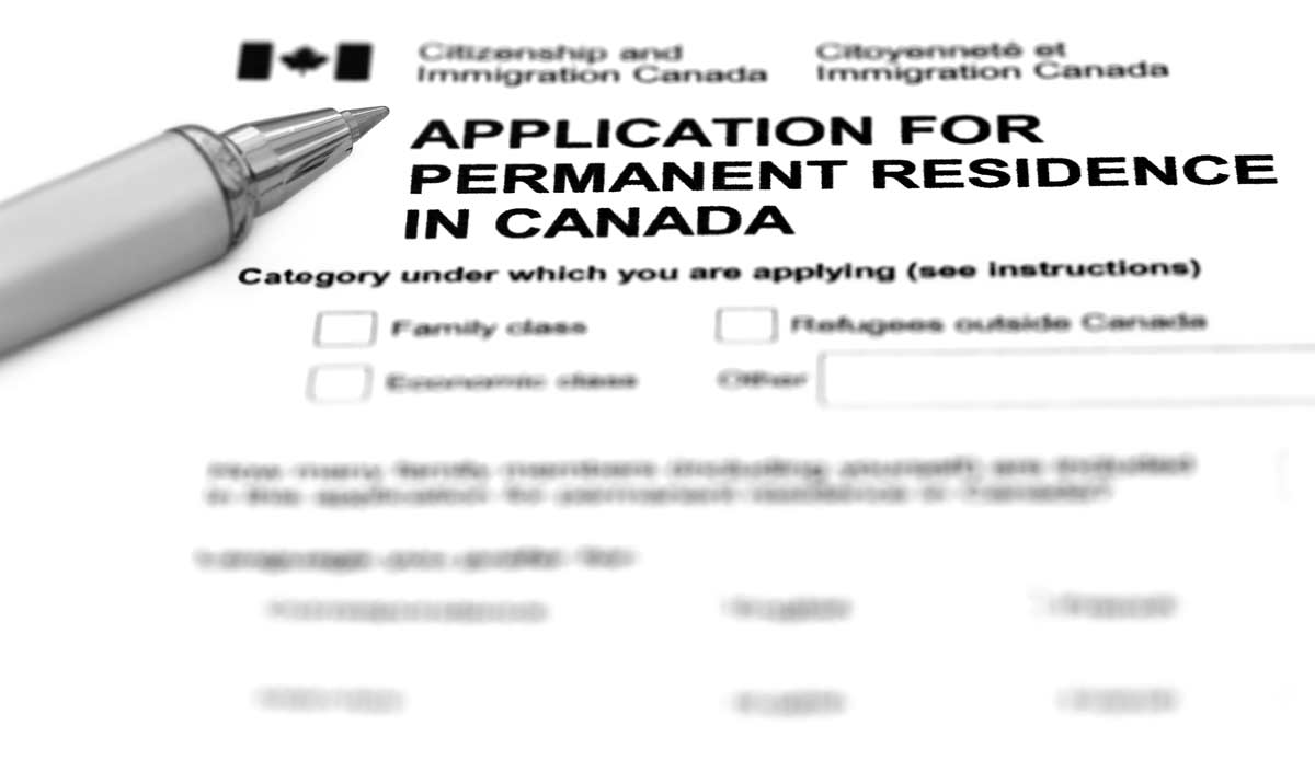 Application for Permanent Residence in Canada | Goldman Associates